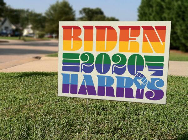 Biden-Harris-Sign-Vote 2020 LBGTQIA