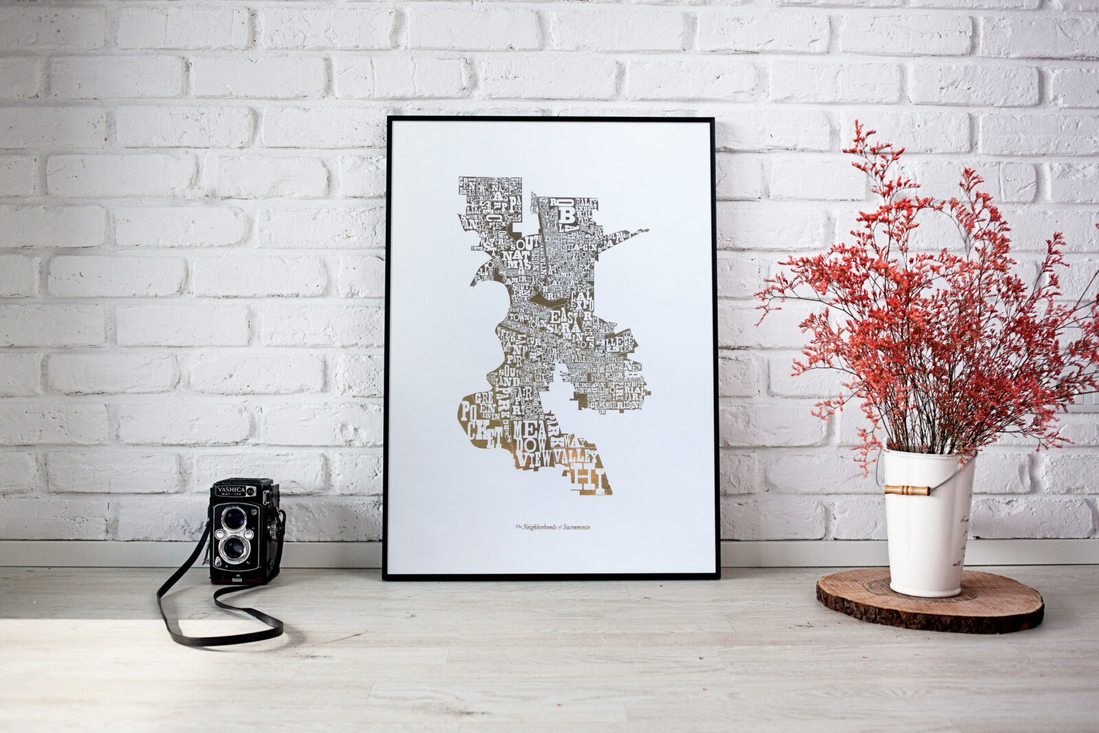 Neighborhoods of Sacramento, Gilt Edition by Amber Witzke