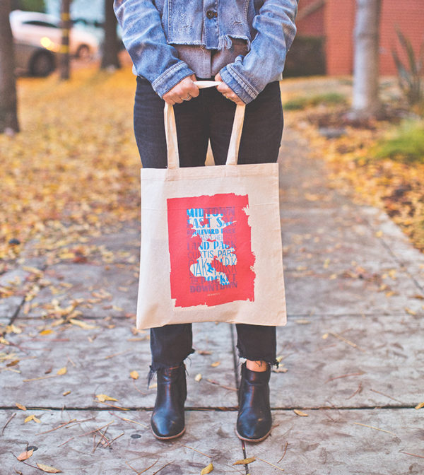 My Type of Town Tote Bag by Amber Witzke