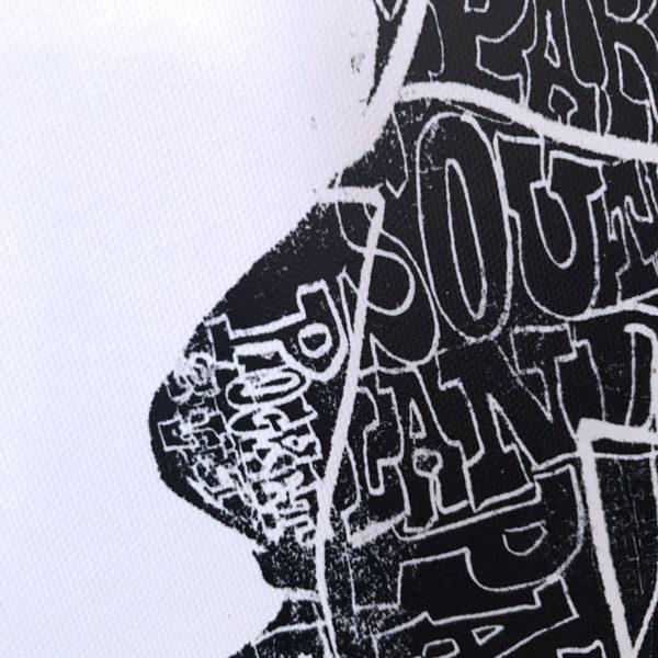 Hand-drawn Neighborhoods of Sacramento Map Giclee by Amber Witzke